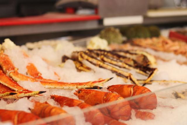 Norway - Bergen - Fish Market