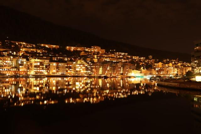 Norway - Bergen by night