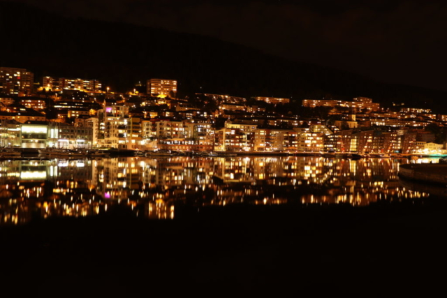 Norway - Bergen by night