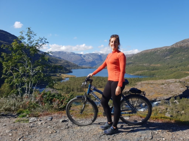 Biking in Norway